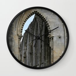 Glastonbury Abbey 2 Wall Clock