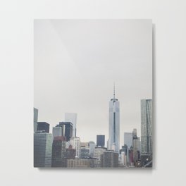 Freedom Tower: New York Cityscape Metal Print