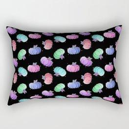 Pastel Pumkins Rectangular Pillow