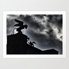 Winged Monkeys Art Print