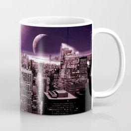 New New York : Galaxy City Dark Mauve Coffee Mug