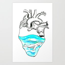 I Sea Love Art Print