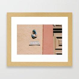 st mary Framed Art Print