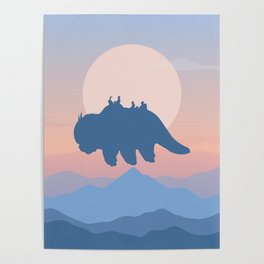 Appa Avatar: The Last Airbender Poster
