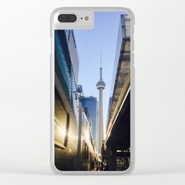 Tower in the 6 @ Union Clear iPhone Case