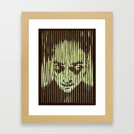 no casualities - green version Framed Art Print