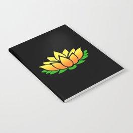 Yellow Lotus Notebook