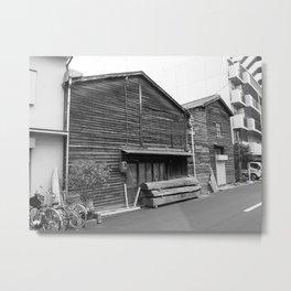 Osaka woodwork Metal Print