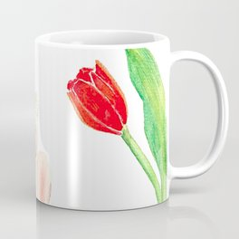 God save the Queen and the tulips Coffee Mug