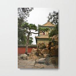 Beijing, China Metal Print