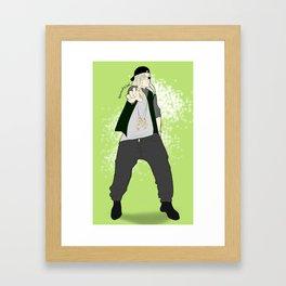 Worick Arcangelo (gangsta) Framed Art Print