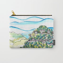 Winding Mountain Road Carry-All Pouch