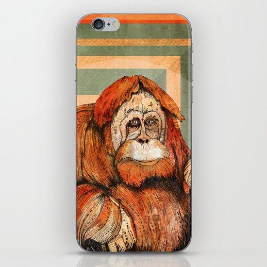 Mr. Orangutan iPhone & iPod Skin