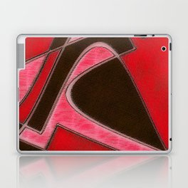Red Denim Sampler Laptop & iPad Skin