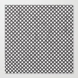 Metal Pattern Canvas Print