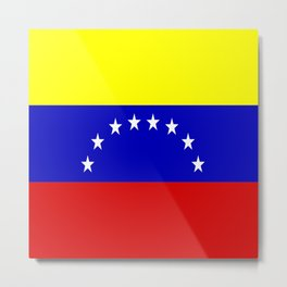 Venezuela Metal Print
