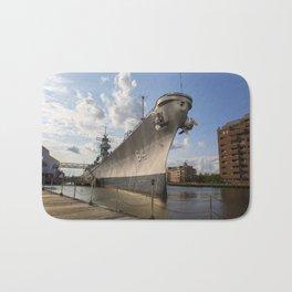 USS Wisconsin Bath Mat