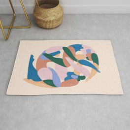 Sisterhood (colorblock) Rug