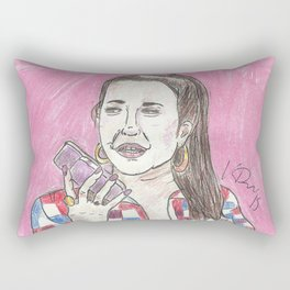 Nancy Jo... This Is Alexis Neiers Calling Rectangular Pillow