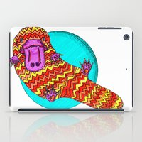 platypus iPad Cases featuring Platypus by Ruth Wels