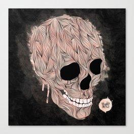 Skulls Aint Dead Canvas Print