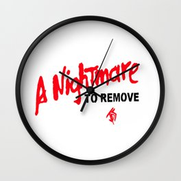 A nightmare to remove Wall Clock