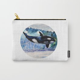 Whale of Freedom Carry-All Pouch