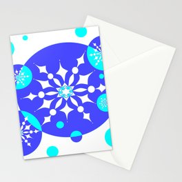 A Delightful Winter Snow Design Stationery Cards
