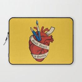 Head, heart & hustle Laptop Sleeve
