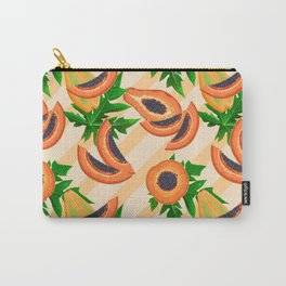 Papaya Party Carry-All Pouch