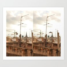 Before & After Art Print