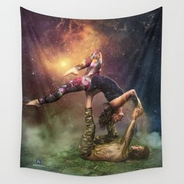 Cosmic Unity Wall Tapestry