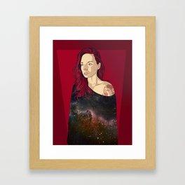 Galaxy Watson Framed Art Print