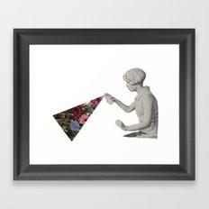 Flower Spray Framed Art Print