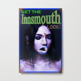 Get The Innsmouth Look Metal Print