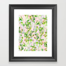 Prickly Pear Patch pt2. Framed Art Print