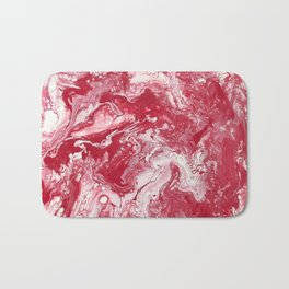 Strawberries and cream Bath Mat