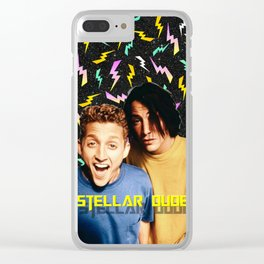 Bill & Ted Clear iPhone Case