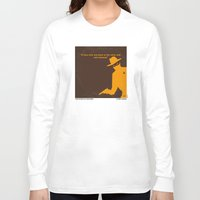 lawyer Long Sleeve T-shirts featuring No202 My The Lone Ranger minimal movie poster by Chungkong
