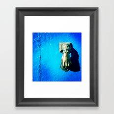 Knocker Framed Art Print