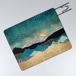 Peacock Vista Picnic Blanket