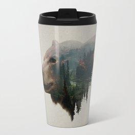 The Pacific Northwest Black Bear Travel Mug
