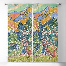 Good Mountain by Henri Matisse Blackout Curtain