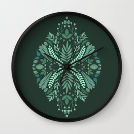 Minty Spring Wall Clock