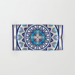 Sacred Places Blue Hand & Bath Towel