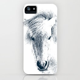 Cute Ponyface iPhone Case