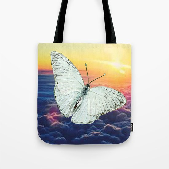 Angel Butterfly Tote Bag