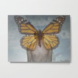 The Metamorphosis - La Metamorfosis Metal Print