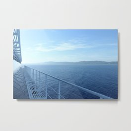 Jamaica from the Ship Metal Print
