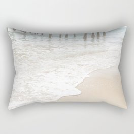 Huntington Beach Wave // California Ocean Sandy Beaches Surf Country Pacific West Coast Photography Rectangular Pillow